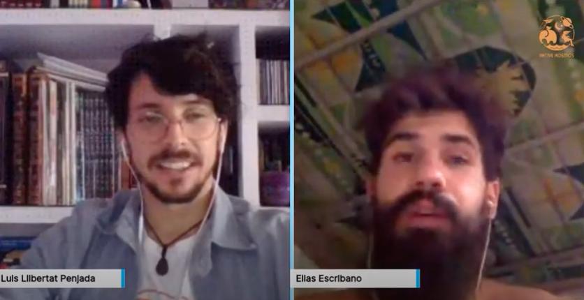 """Vídeo de la entrevista de AKtive Kosmos a Elías Escribano, """"Perlé por el mundo"""" 3"""
