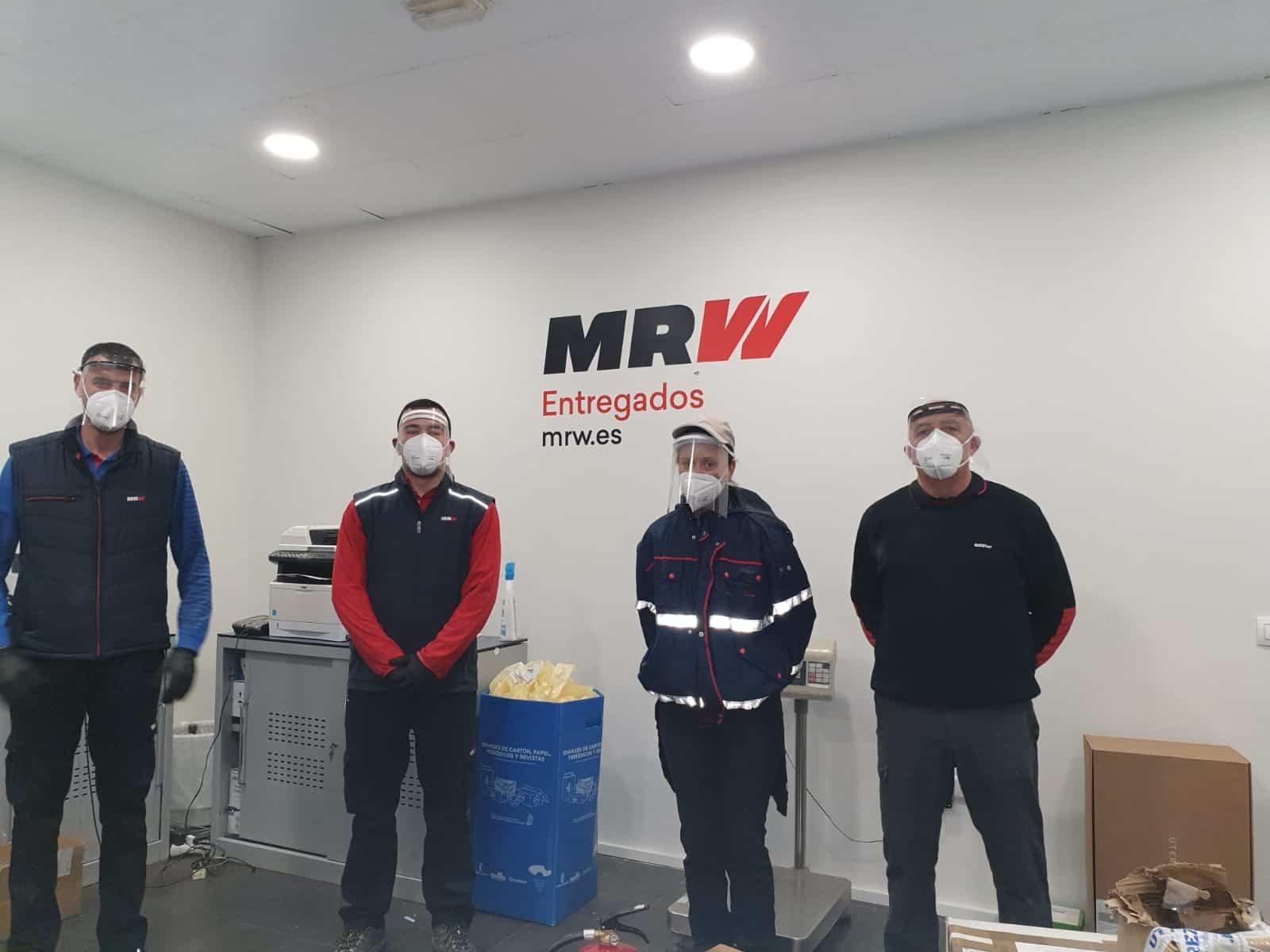 MRW - Ánthropos sigue atendiendo necesidades del hospital y residencias