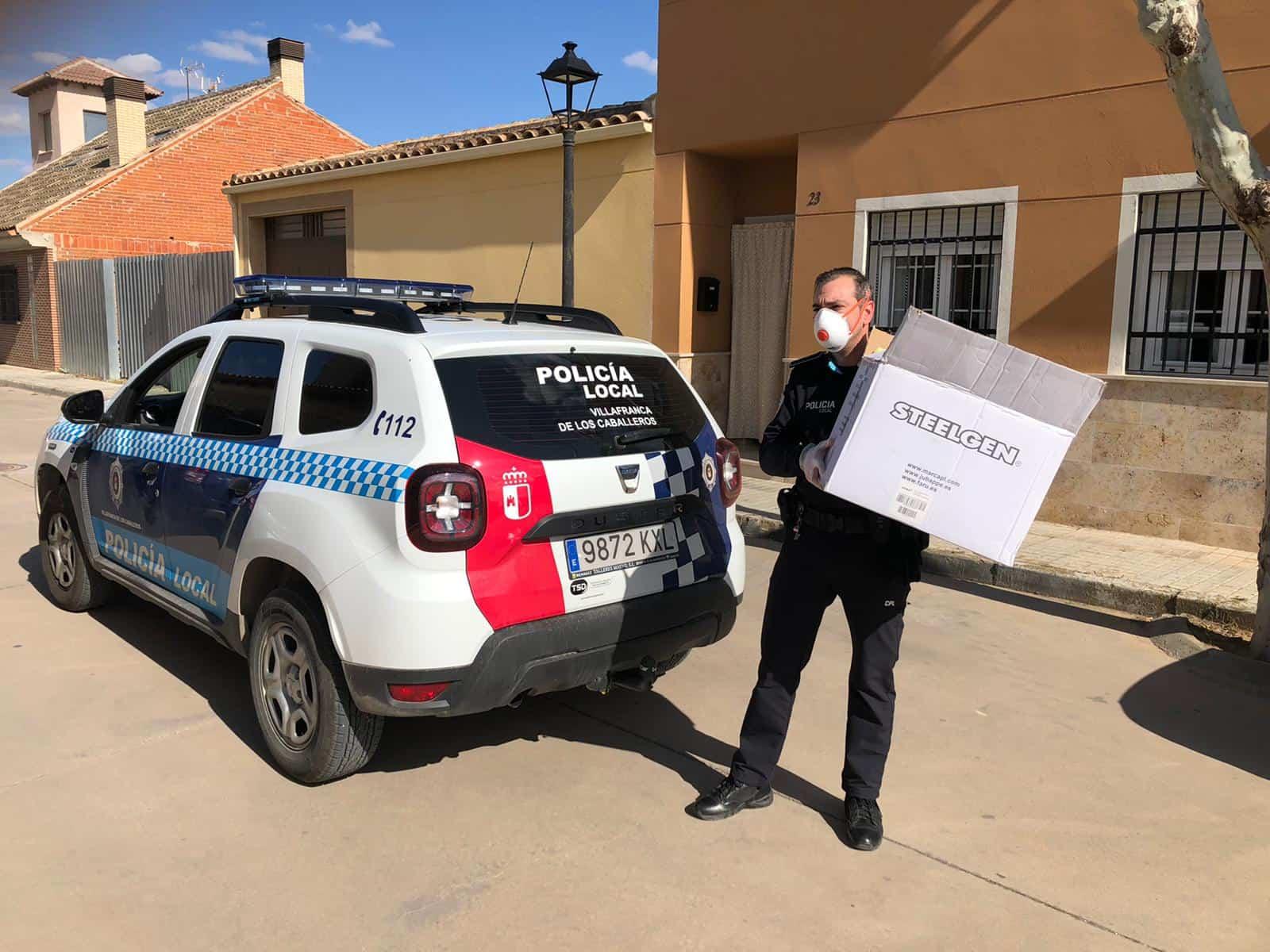 Material para las residencias de Villafranca3 - Ánthropos destina más de 16.000 euros a atender necesidades de hospitales, residencias y servicios de ayuda a domicilio
