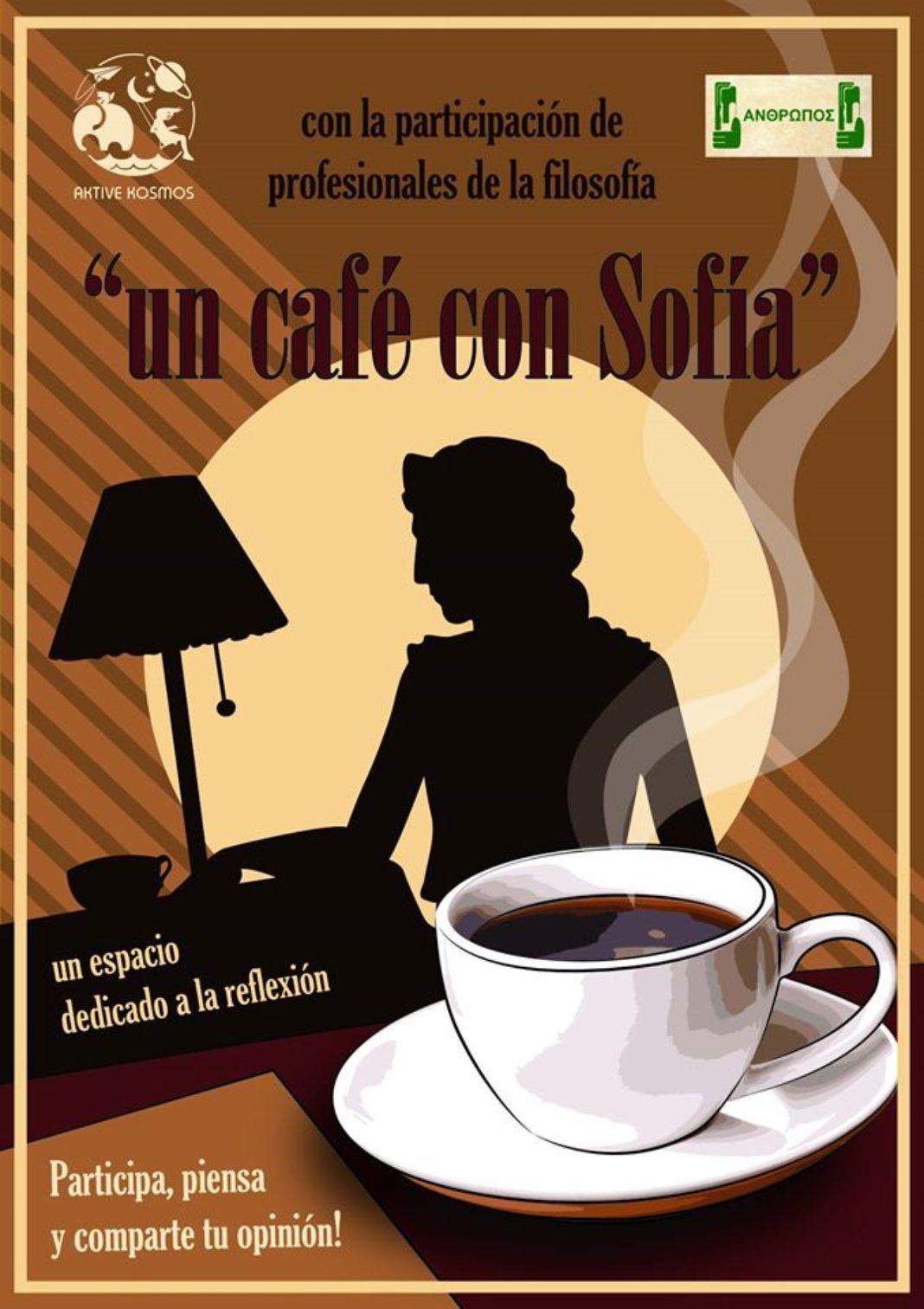Un café con Sofía. Nueva propuesta cultural de Aktive Kosmos y Ánthropos 4