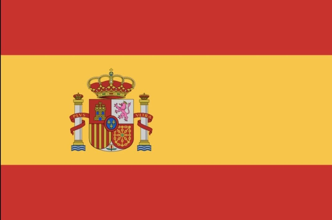 bandeda espana 1068x708 - El Himno de España en el homenaje a los héroes de la pandemia de hoy