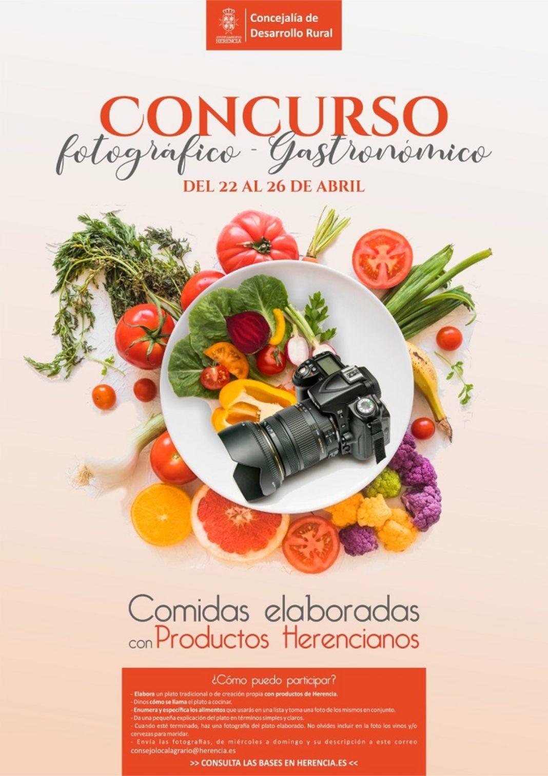 concurso fotográfico gastronómico 1068x1511 - Concurso fotográfico-gastronómico de comidas elaboradas con productos de Herencia