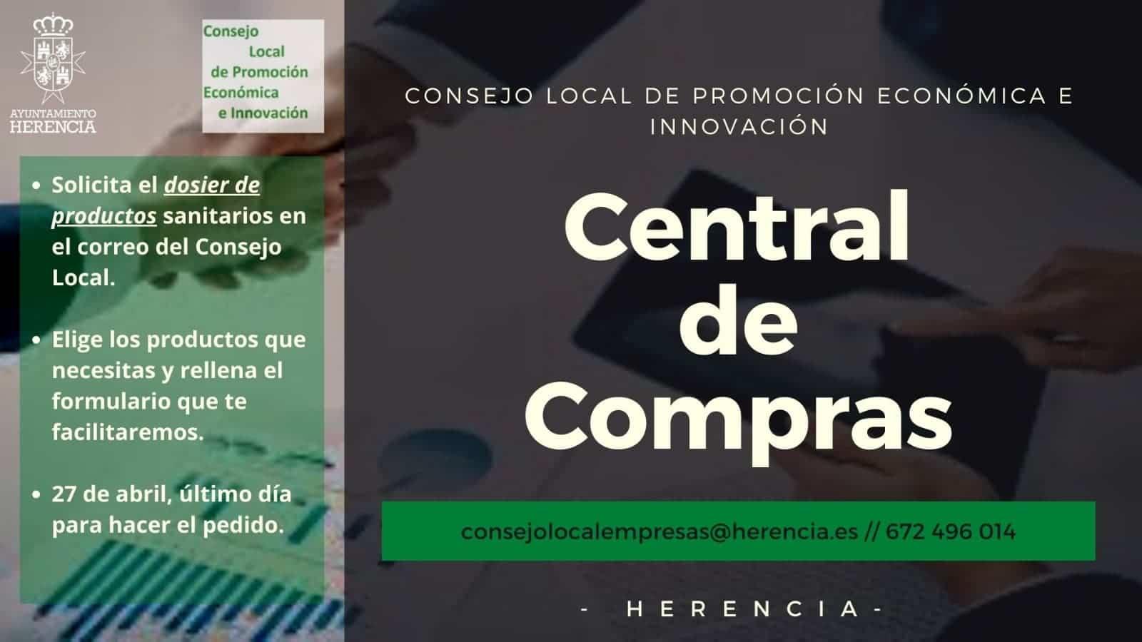 consejo empresas central de compras herencia - La empresas de Herencia ponen en marcha una central de compras frente al coronavirus