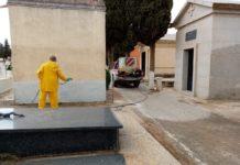 desinfección del cementerio2 218x150 - Ayuntamiento de Herencia
