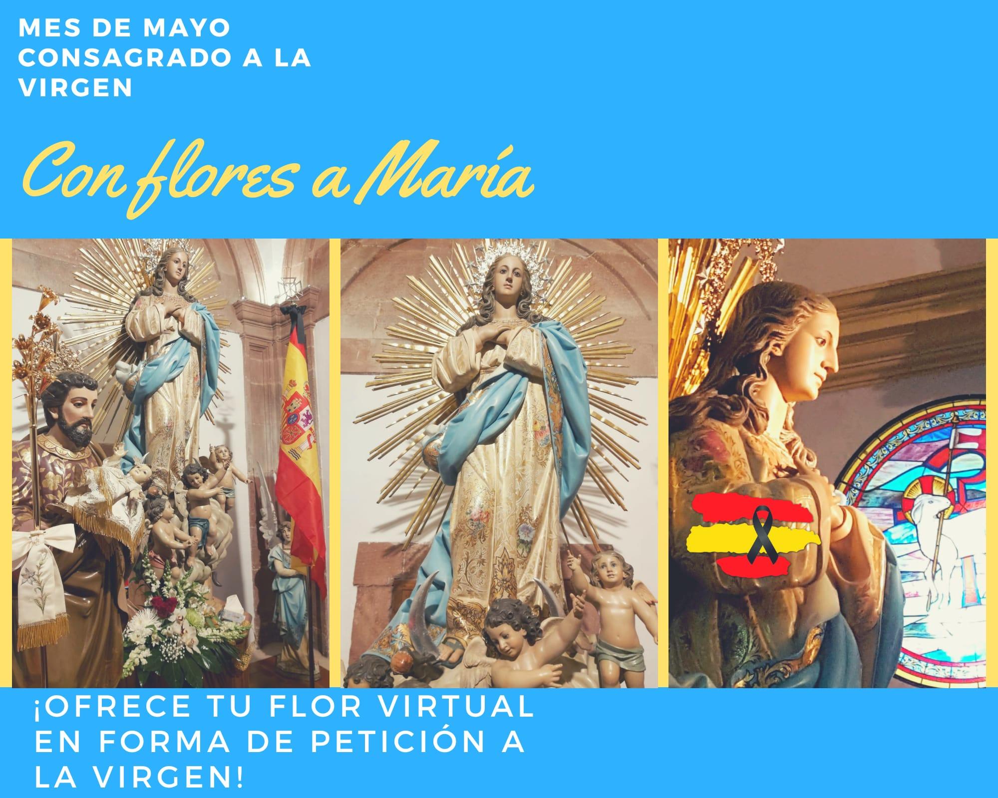 flores a Mar%C3%ADa Mes de MAyo - La parroquia Inmaculada Concepción inicia un mes de mayo dedicado a María