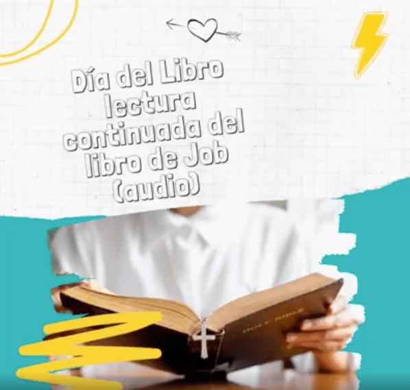 lectura continuada del libro de JOB - La parroquia de Herencia celebra el Día del Libro con la lectura continuada del libro de Job