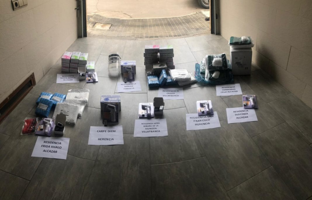 La empresas de Herencia ponen en marcha una central de compras frente al coronavirus 4