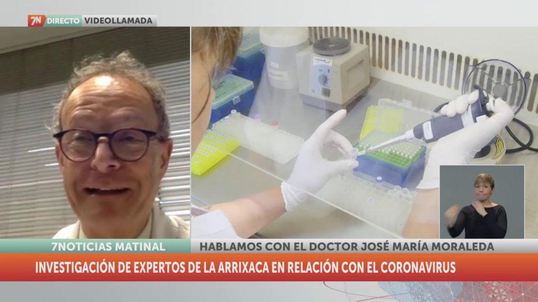 Interesante entrevista al Doctor José María Moraleda, herenciano luchando contra el Covid-19, en 7TV 1