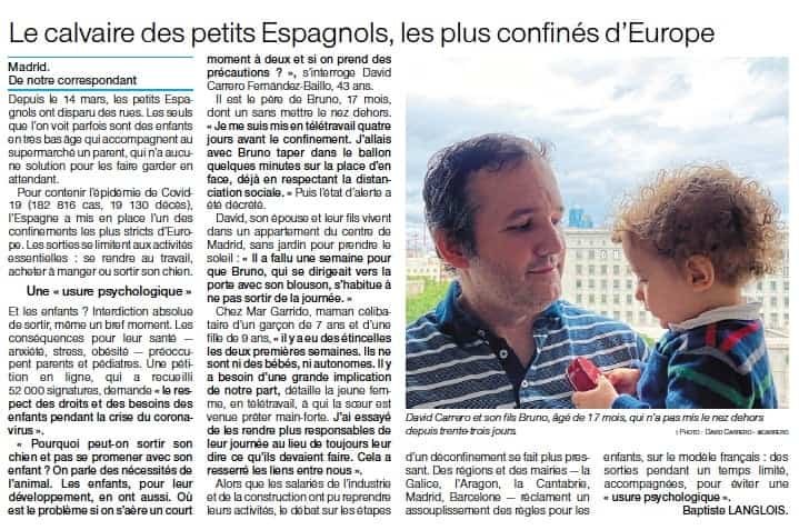 El calvario de los niños españoles, los más confinados de Europa 3
