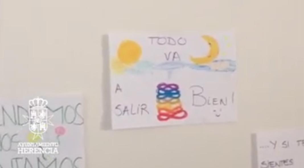 muchos ánimos 1068x589 - Mucho ánimo el vídeo del Ayuntamiento de Herencia para animar a la gente
