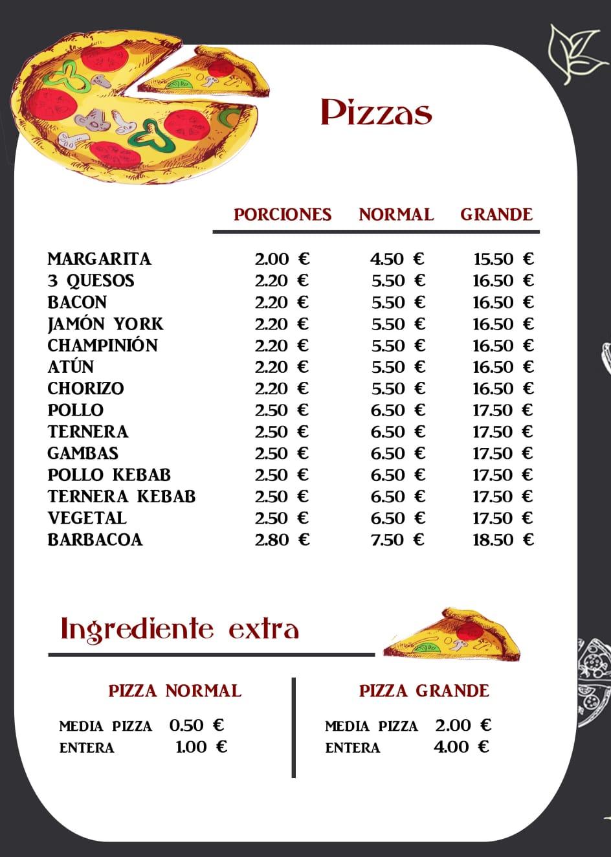 Pizzería Alex servirá a domicilio los fines de semana 8