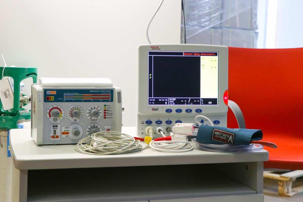 respiradores adquiridos por el gobierno de CLM2 - Comienza el reparto de los nuevos respiradores