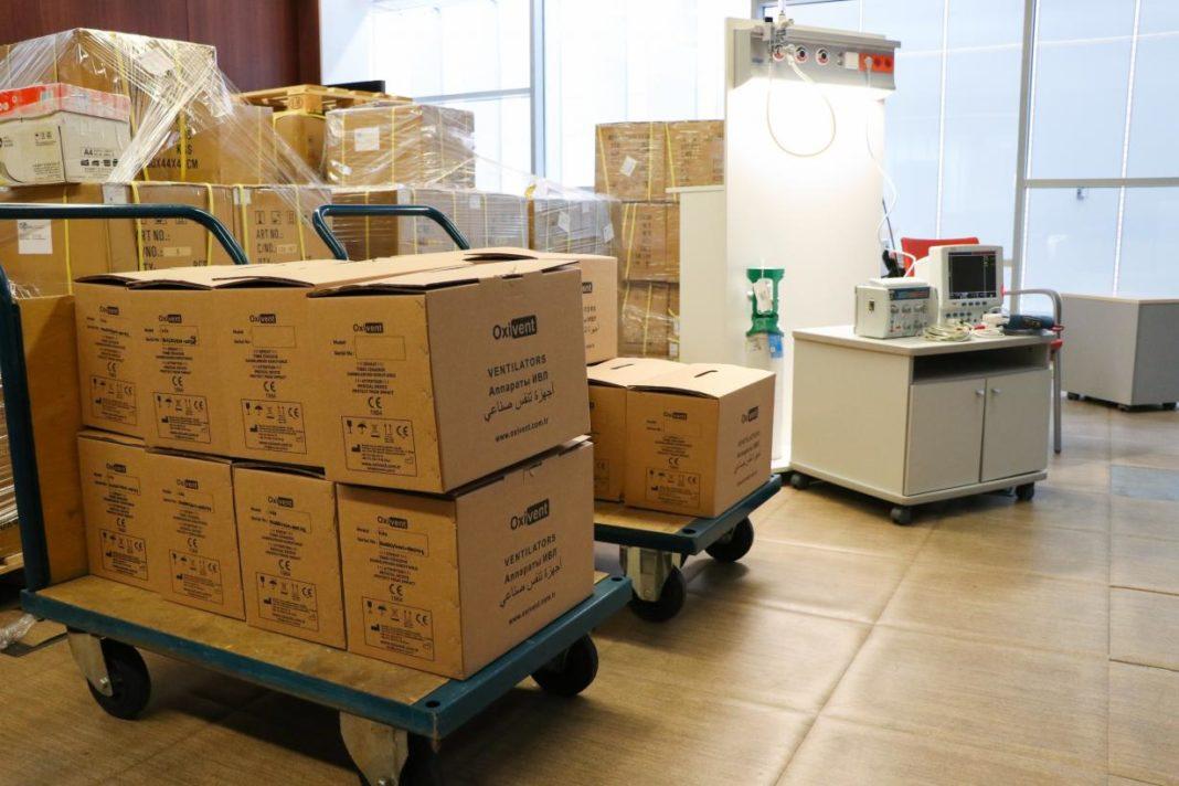 respiradores adquiridos por el gobierno de CLM3 1068x712 - Comienza el reparto de los nuevos respiradores