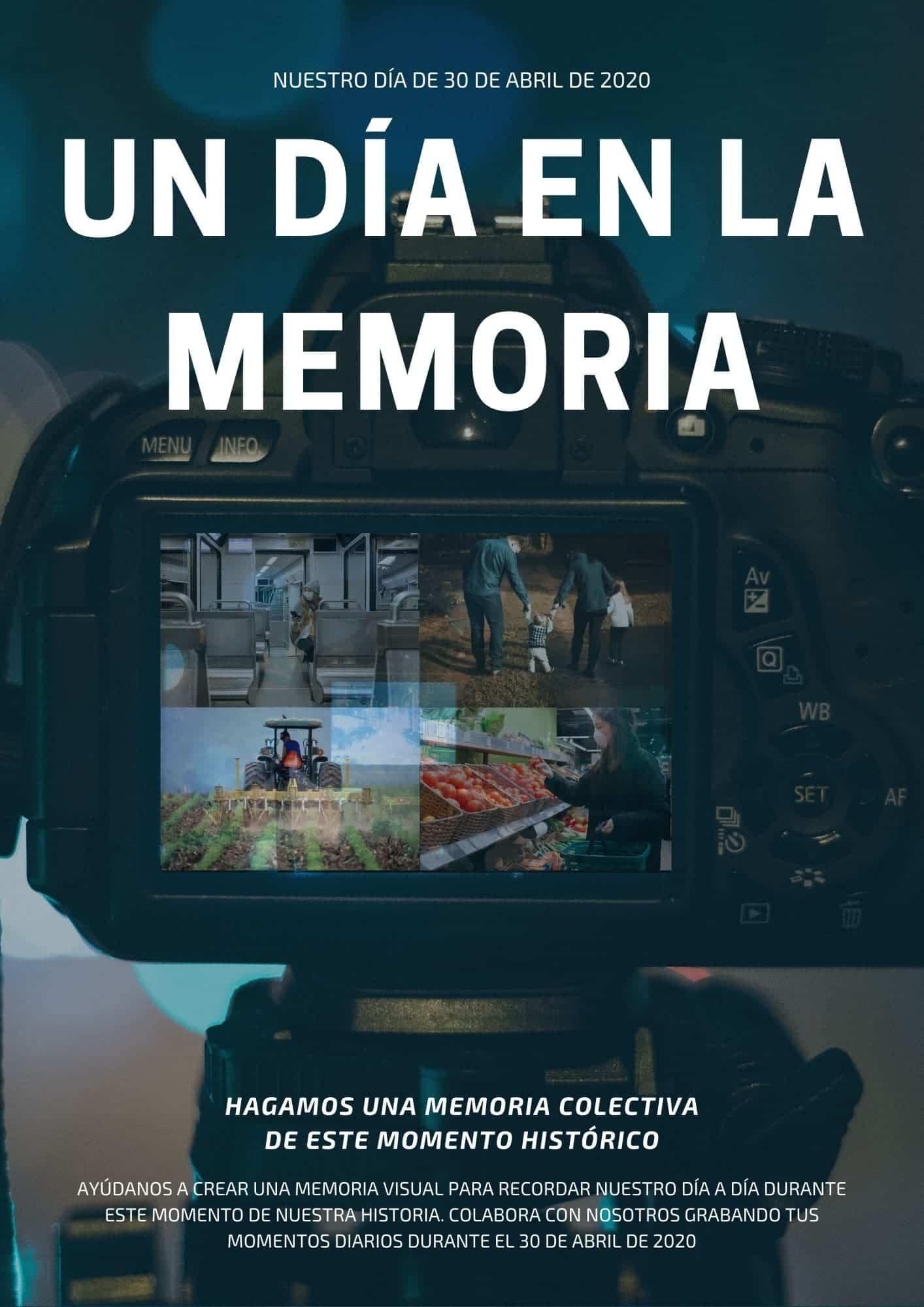 Un día en la memoria. Proyecto de vídeo Memoria en Comunidad 6