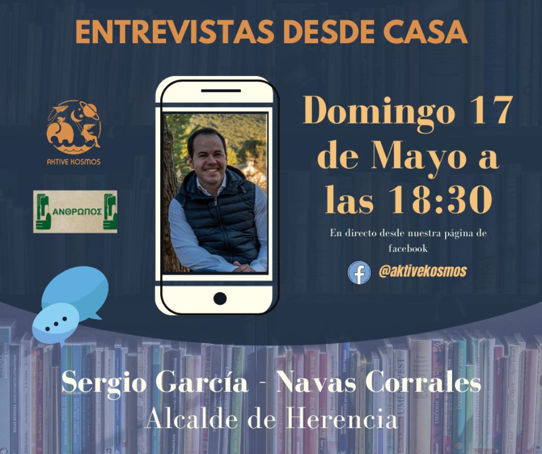 Aktive Kosmos entrevista desde casa al alcalde Sergio García-Navas 10