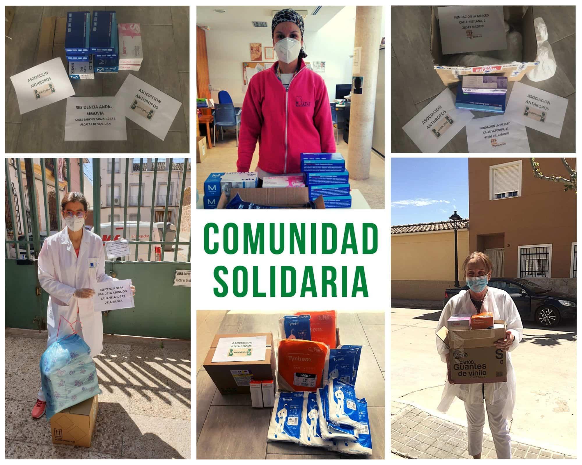 Comunidad solidaria anthropos - Atentos a las necesidades de toda la comunidad