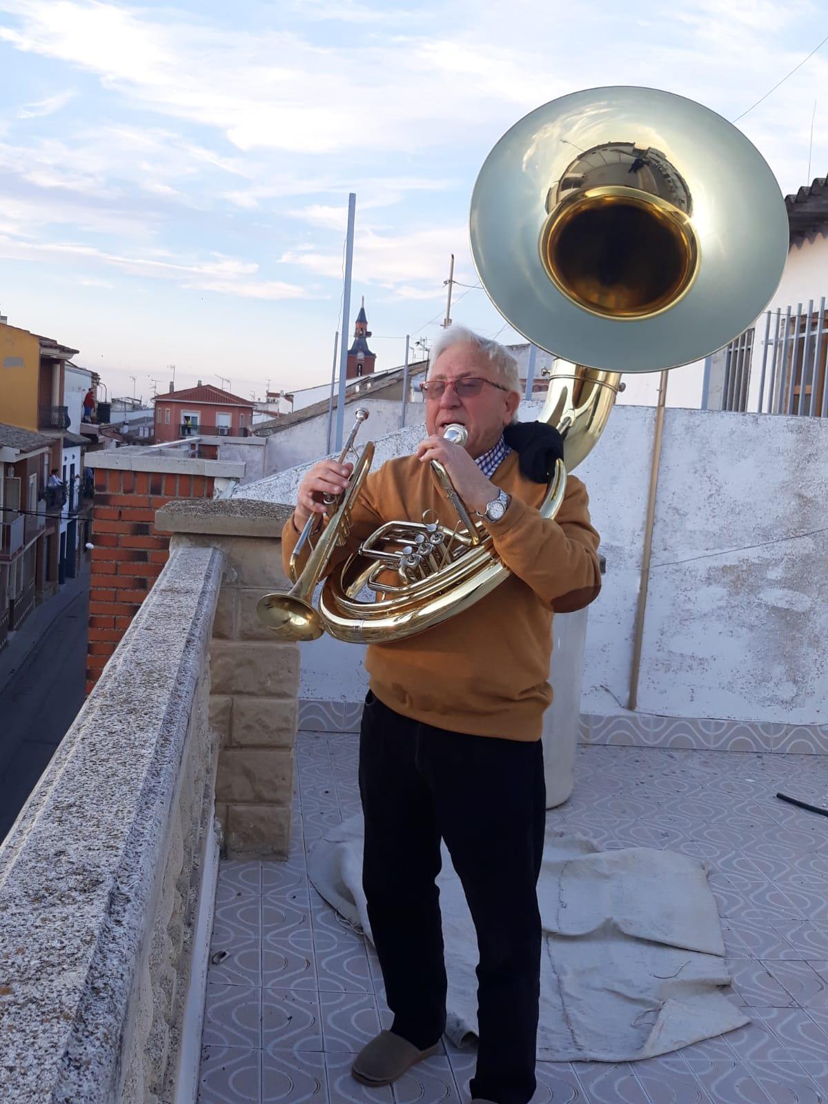 """Emilio Rodríguez. """"La torre, testigo de la música en la pandemia"""""""