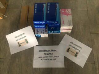 Entrega material residencia Andr%C3%A9s Segovia de Alc%C3%A1zar 320x240 - Atentos a las necesidades de toda la comunidad