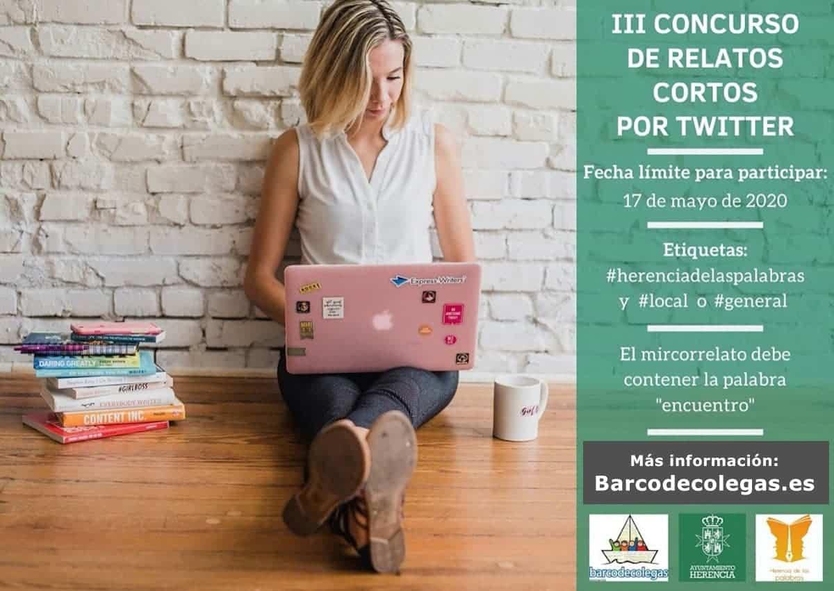 III concurso relatos cortos herencia - «Herencia de las Palabras», tercera edición para compartir tus relatos cortos por twitter