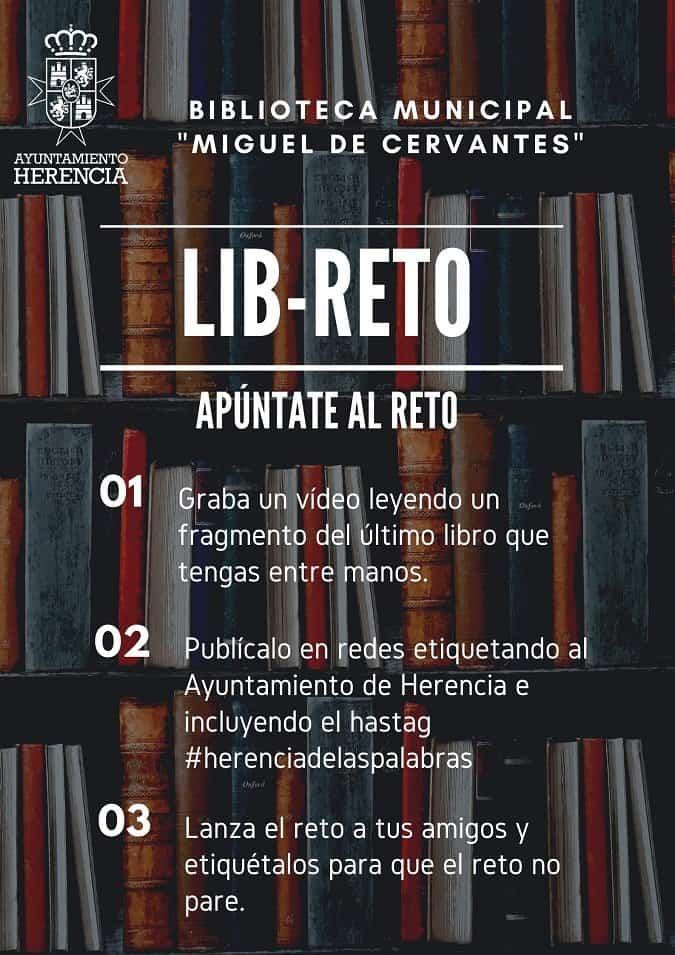 LIB RETO - Lib-Reto, el reto lector de la Biblioteca Municipal
