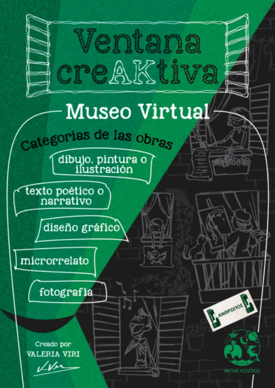 Ventana CreAKtiva 1068x1508 - Aktive Kosmos presenta un museo virtual con la participación de 52 artistas de 7 países