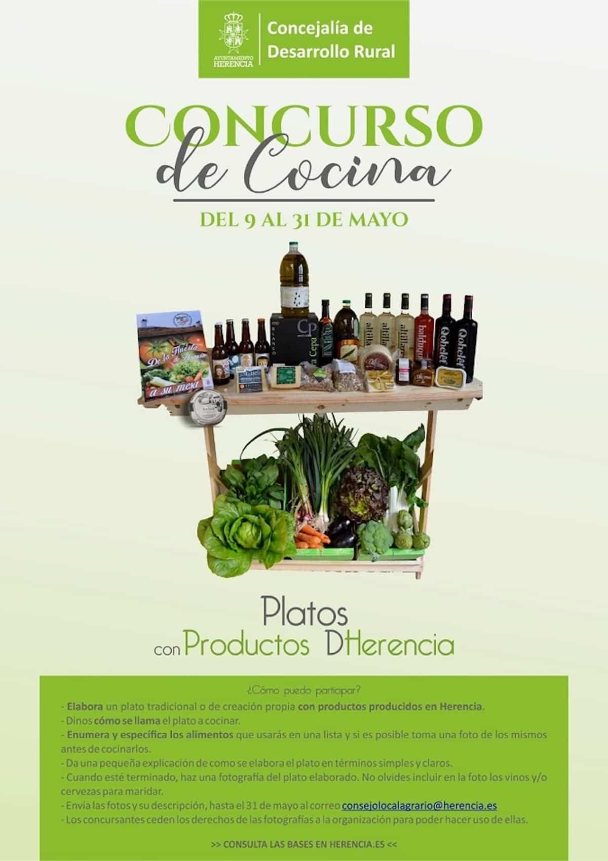 """concurso de cocina herencia covid - Los productos de Herencia protagonistas del """"Concurso de Cocina"""""""