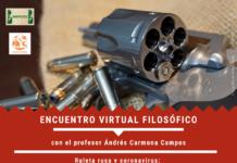 encuentro virtual de filosofía1 218x150 - Coordinación de ayuda frente al Coronavirus desde Herencia