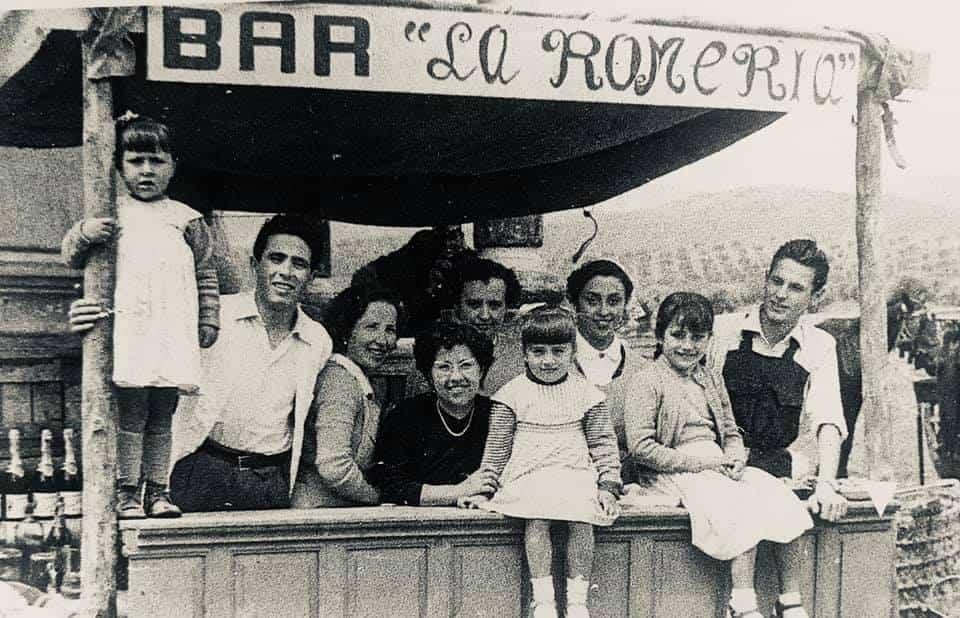 herencia de romeria 2 foto antigua - Historia de las romerías en Herencia. Fotografías antiguas