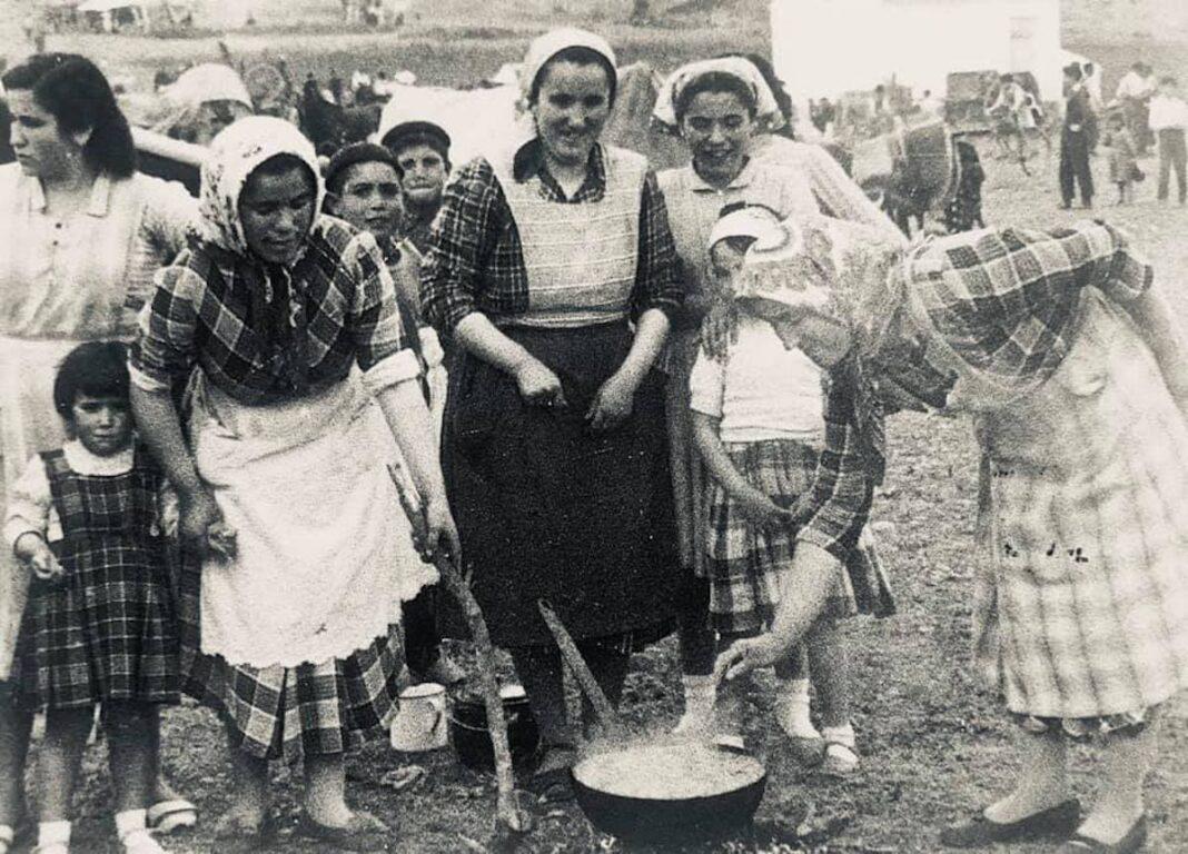 herencia de romeria 5 foto antigua 1068x768 - Historia de las romerías en Herencia. Fotografías antiguas