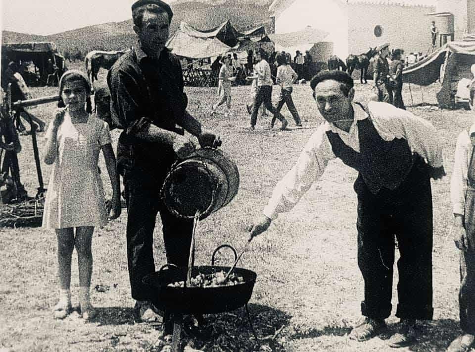 Historia de las romerías en Herencia. Fotografías antiguas 18