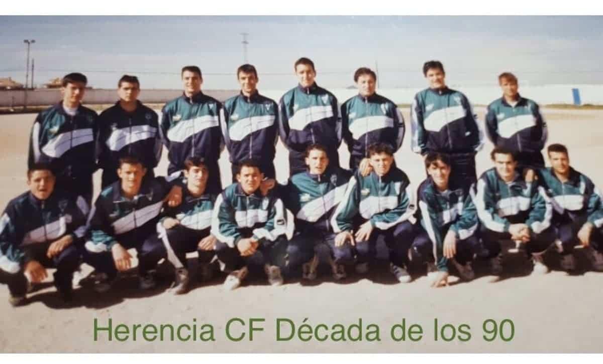 herencia futbol historia imagenes decada 90 - Un paseo por el tiempo del Herencia Club de Fútbol, segunda parte