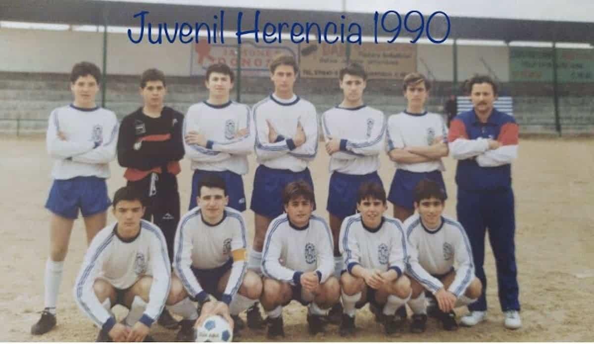 herencia futbol historia imagenes juvenil 1990 - Un paseo por el tiempo del Herencia Club de Fútbol, segunda parte