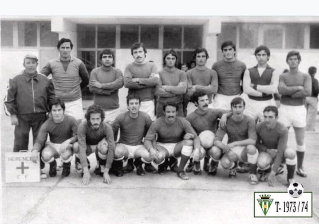 herencia futbol temporada 1973 1974 1068x752 - Un paseo por el tiempo del Herencia Club de Fútbol