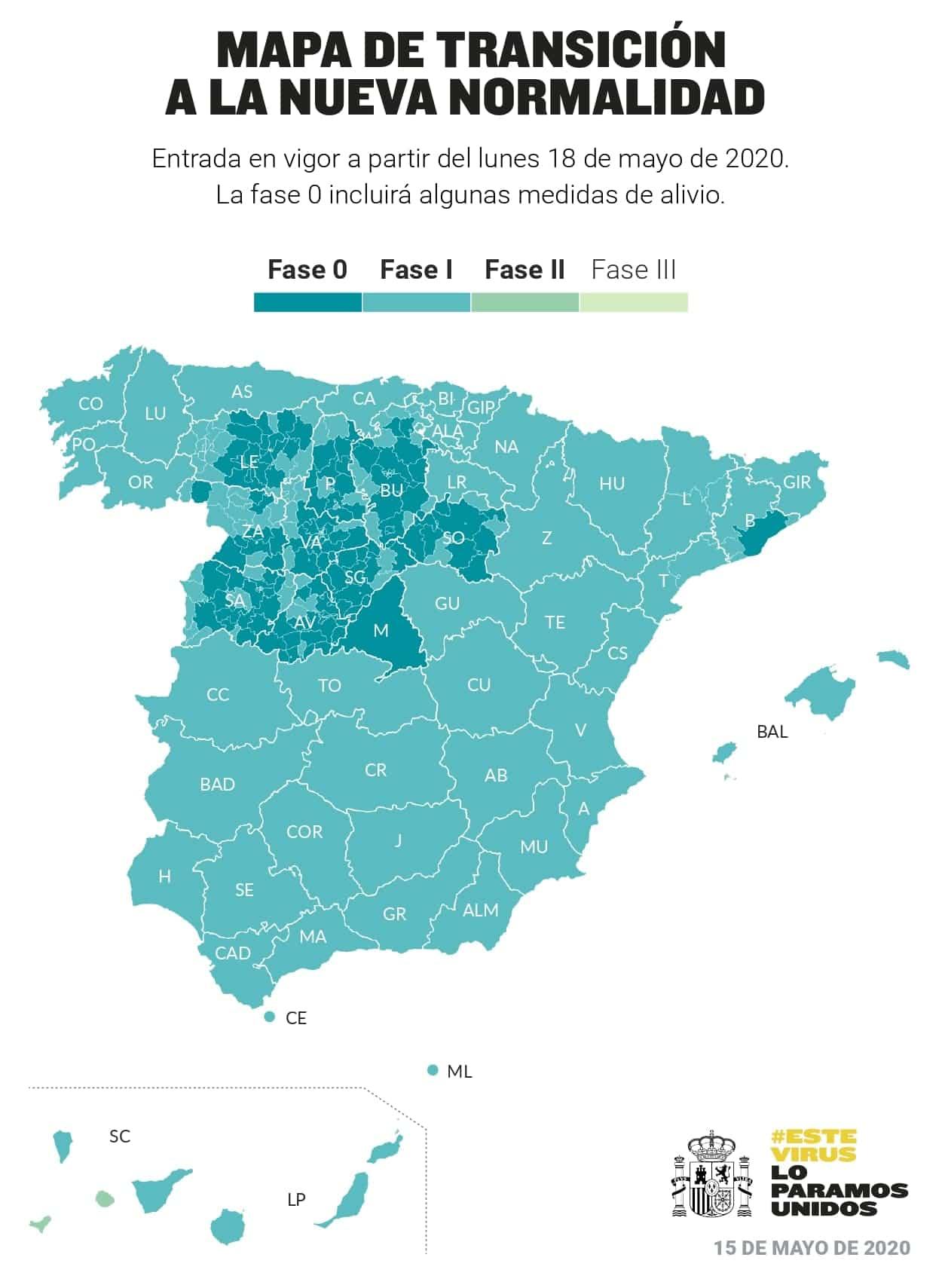 Herencia y la provincia de Ciudad Real pasan a la fase 1 de la desescalada 3