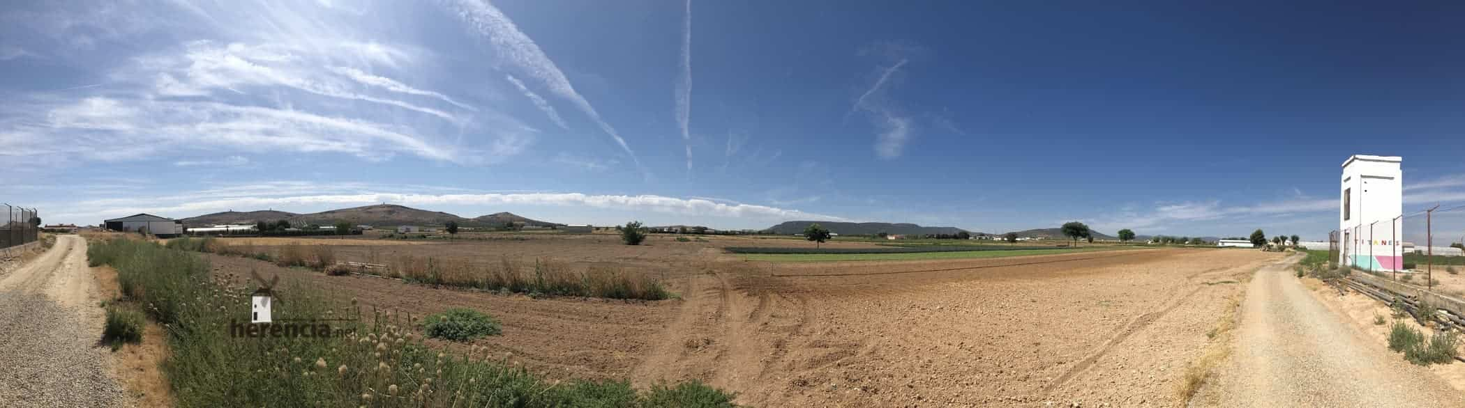 panoramica herencia campo - Herencia se suma a la relajación de la desescalada por tener menos de 10.000 habitantes