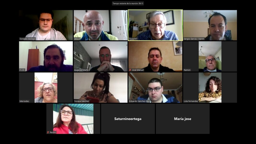 reunion psoe herencia videoconferencia 1068x601 - El PSOE de Herencia realiza su ejecutiva local, centrada en el Covid-19, por videoconferencia