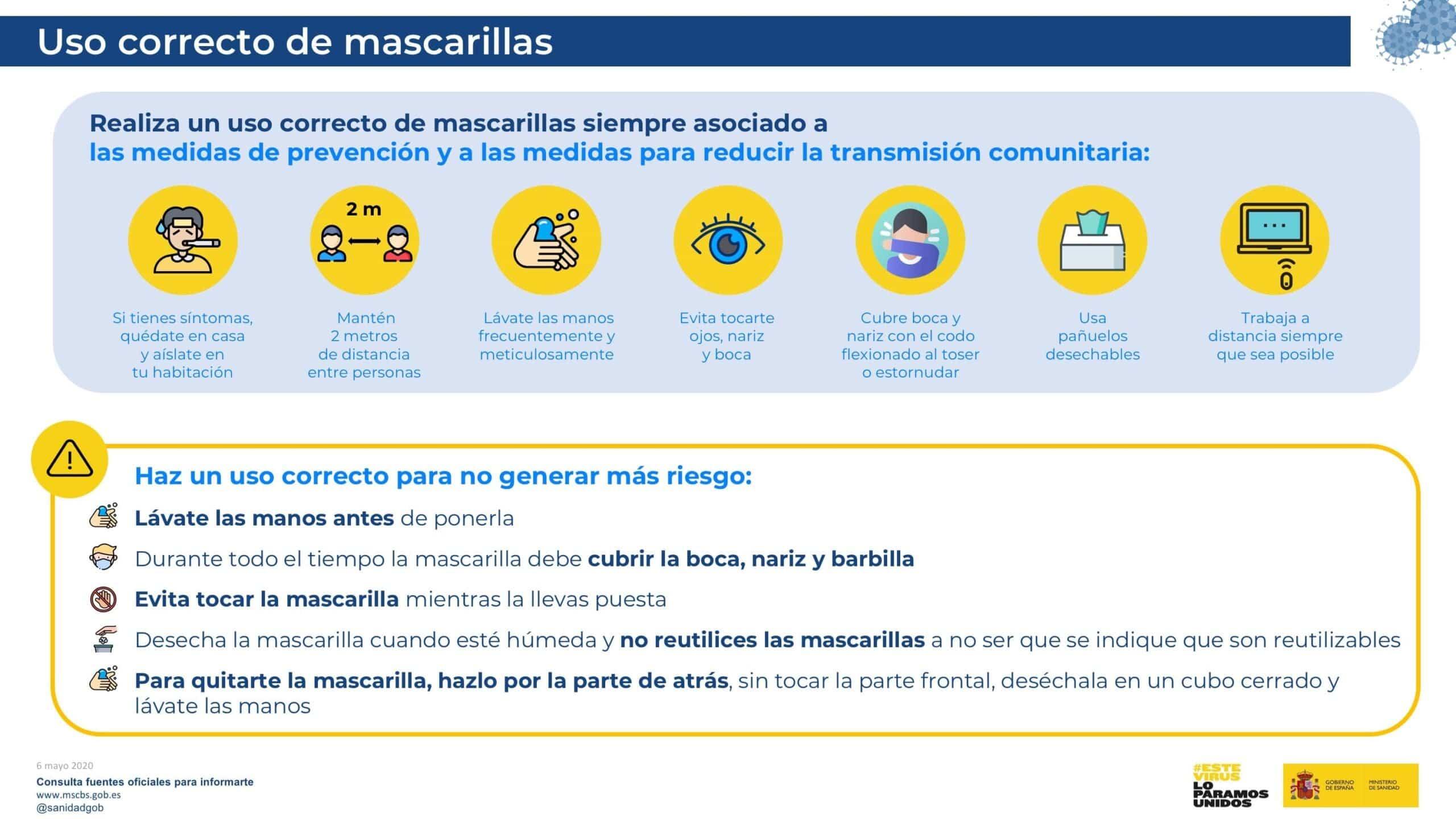 uso obligatorio mascarillas espana scaled - Uso obligatorio de la mascarillas si no puedes mantener las distacia de seguridad
