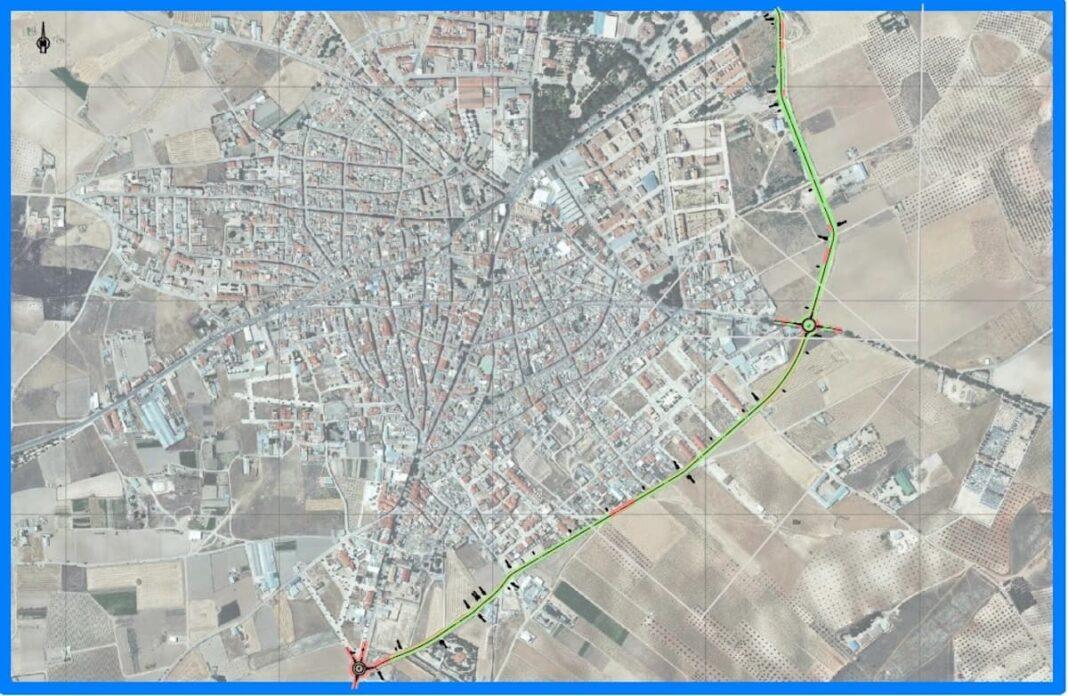 variante este ronda mirasierra herencia ciudad real 1068x696 - La Ronda de Mirasierra de Herencia sale licitación para sacar el tráfico pesado del casco