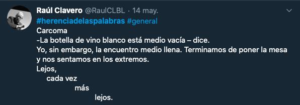 Carcoma Ra%C3%BAl Clavero Ganador General - Raúl Clavero y Santiago Rodríguez ganadores del III Concurso de Microrrelatos de Herencia