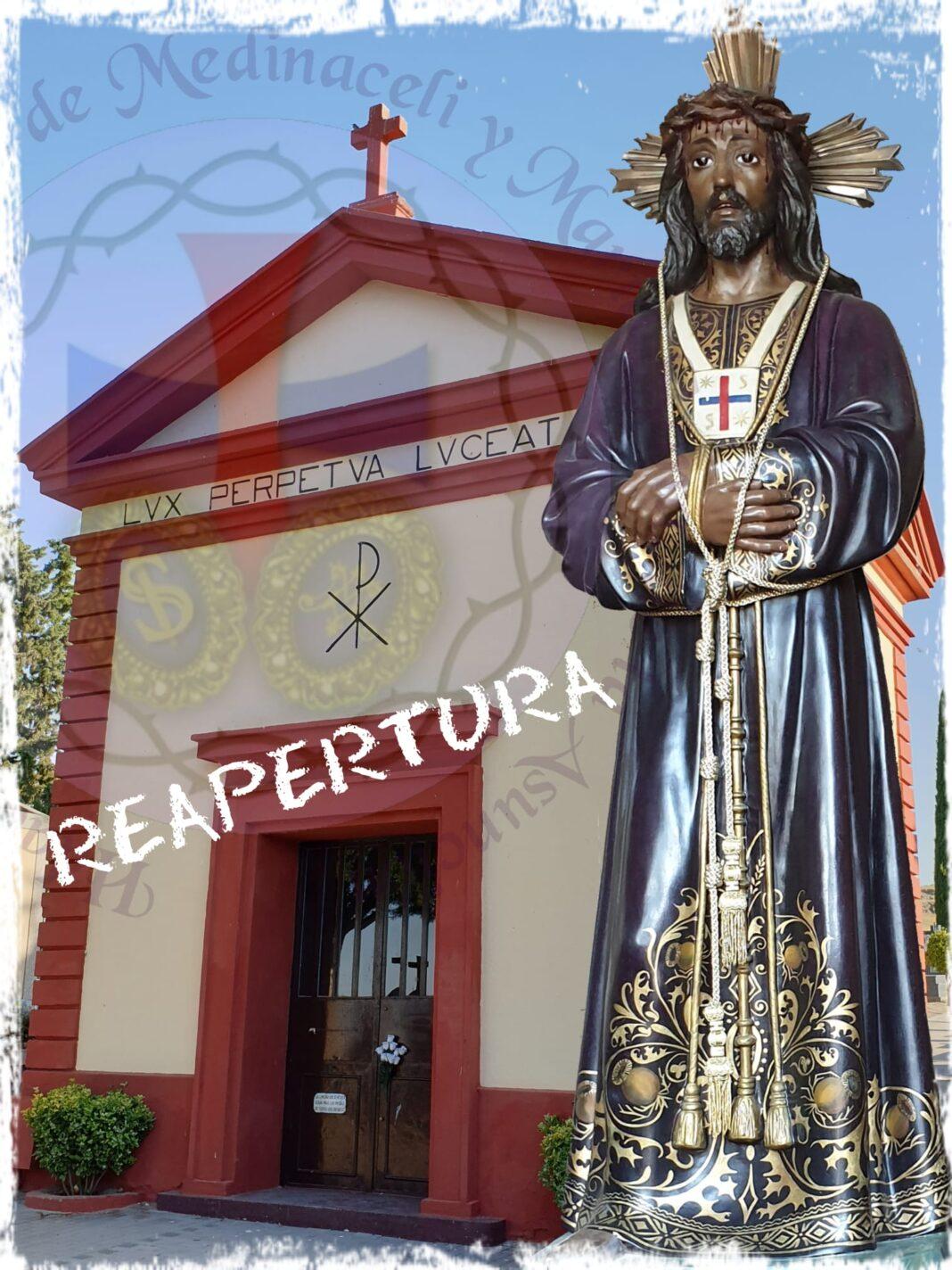 Medinaceli ermita cementerio1 1068x1424 - La hermandad de Medinaceli reabre la capilla del cementerio