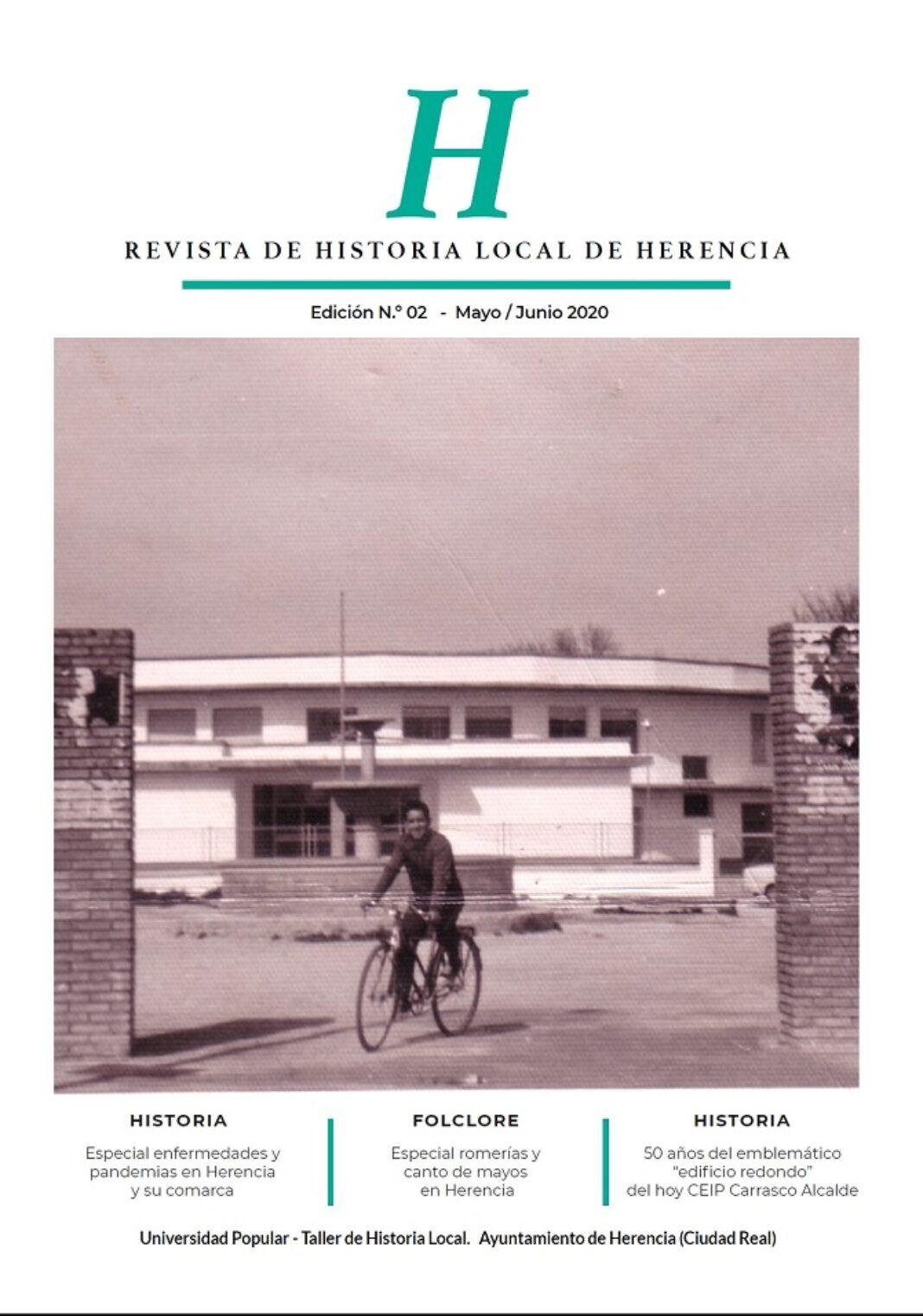 Revista historia local portada 1068x1522 - El Taller de Historia Local presenta el segundo número de su revista de historia
