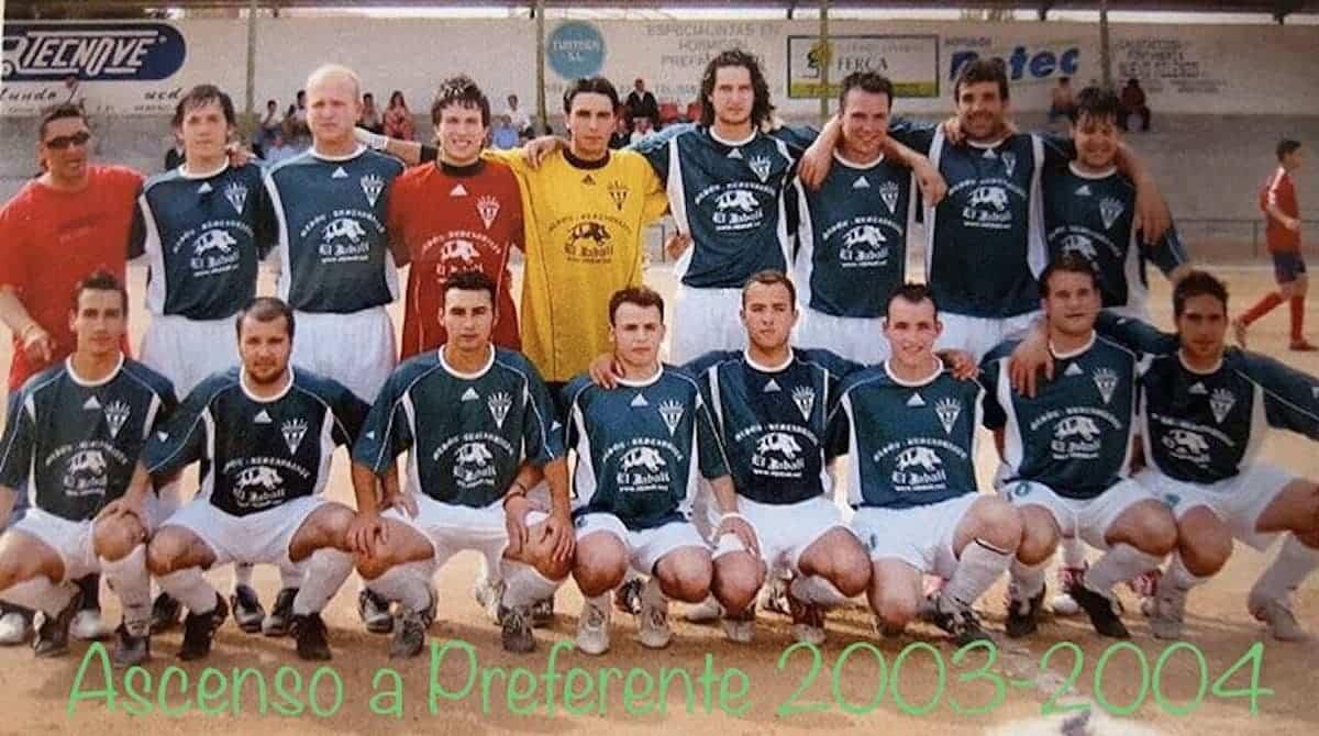ascenso a preferencia 2003 2004 herencia futbol - Un paseo por el tiempo del Herencia Club de Fútbol, tercera parte