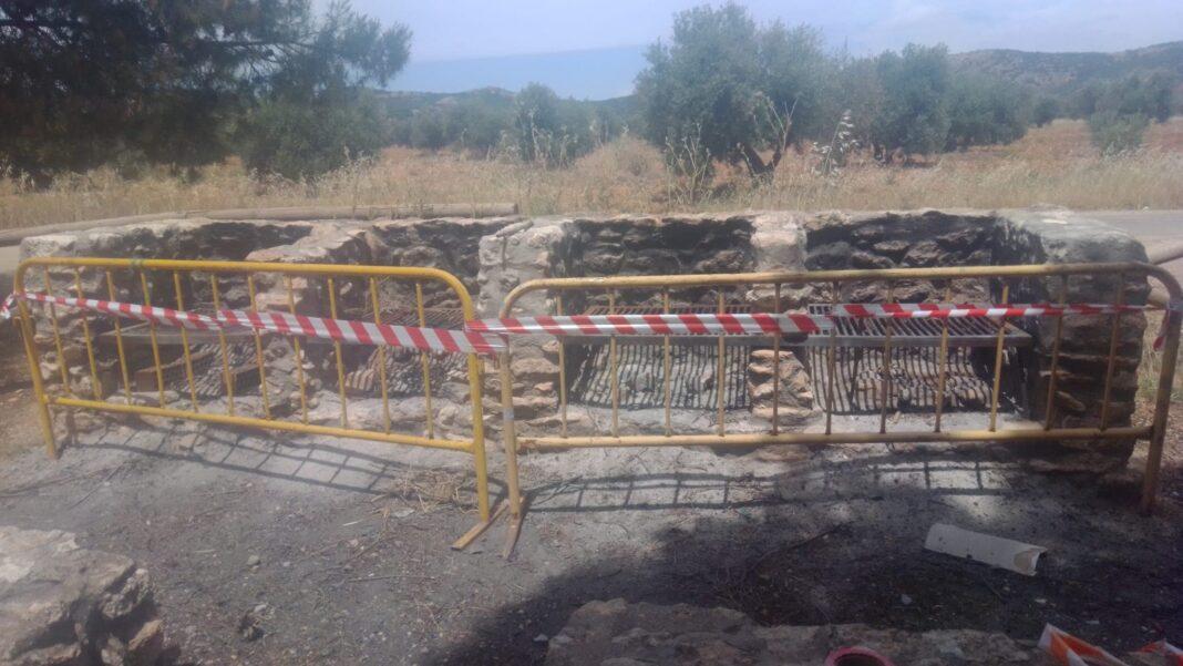 barbacoas herencia precintadas verano 2020 1068x601 - Prohibición de hacer fuego durante el verano y precinto de barbacoas públicas