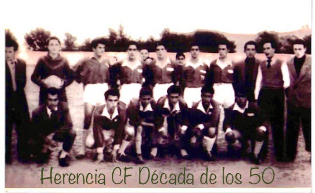 herencia futbol decada 1950 1068x656 - Un paseo por el tiempo del Herencia Club de Fútbol, tercera parte