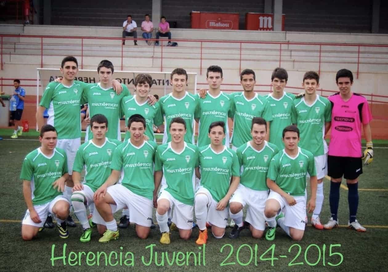 herencia futbol juvenil 2014 2015 - Un paseo por el tiempo del Herencia Club de Fútbol, tercera parte