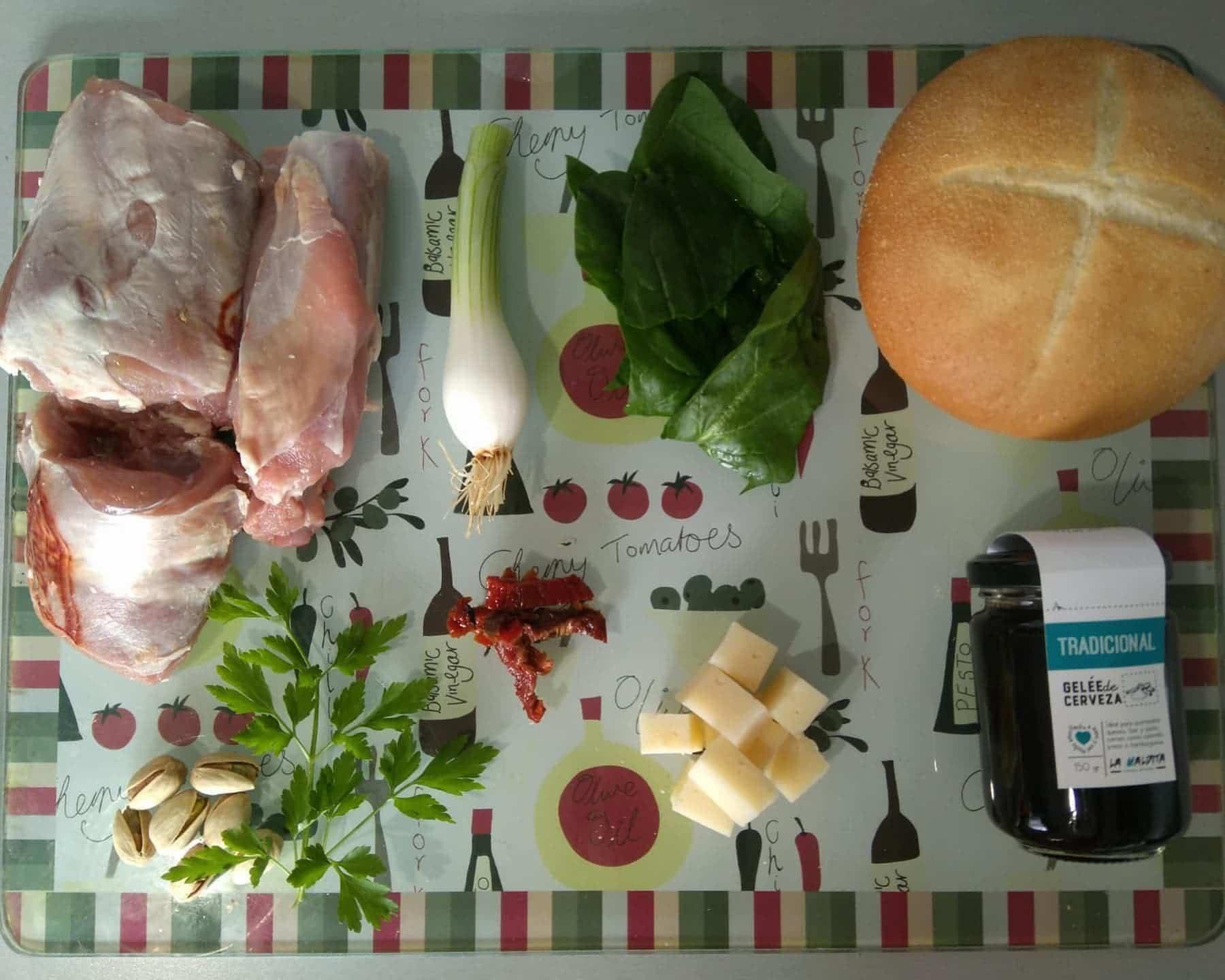 ingredientes herenciana burger - La Herenciana's Burger ganadora del Concurso Fotográfico-Gastronómico