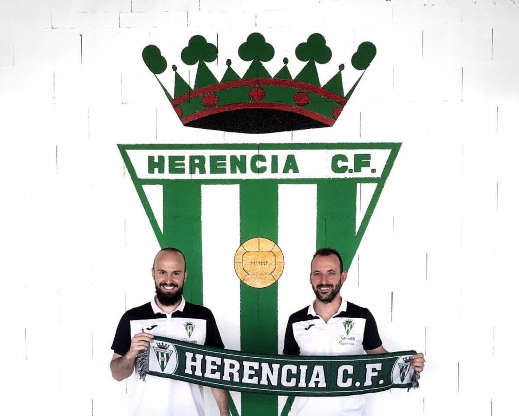 jose carlos y david nunez renueva por herencia futbol 1068x856 - Nuñez y Choche, los capitanes fundamentales para el Herencia CF