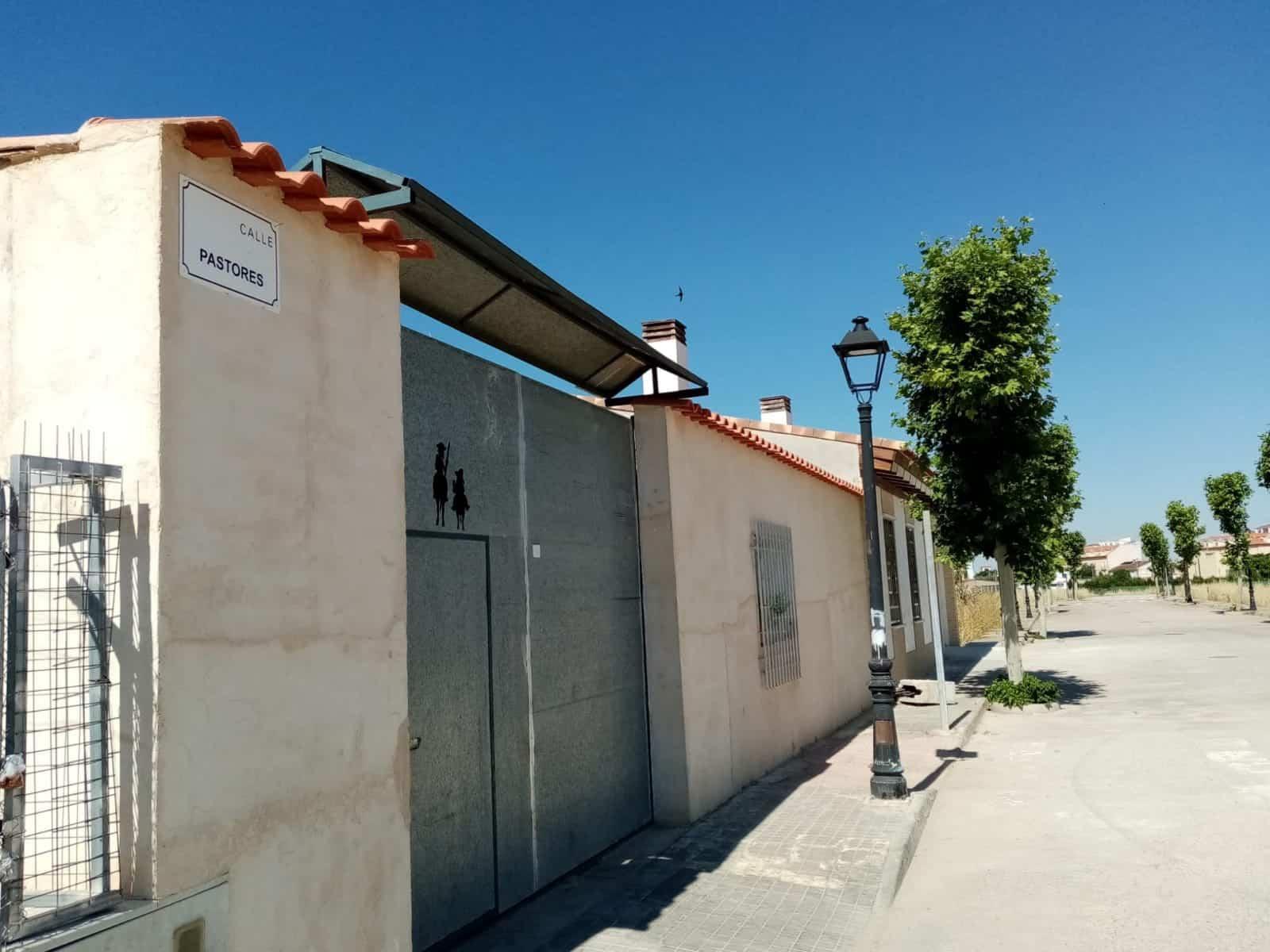 Herencia ya tiene una calle dedicada a la profesión de los pastores 3