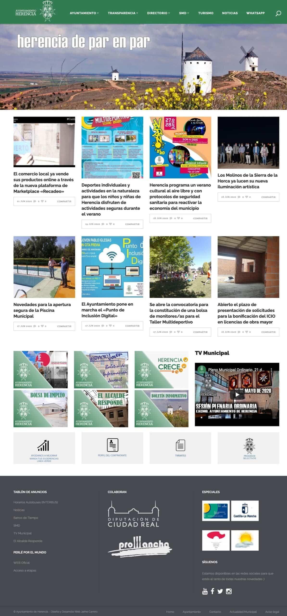 nueva web ayuntamiento herencia scaled - Ayuntamiento de Herencia