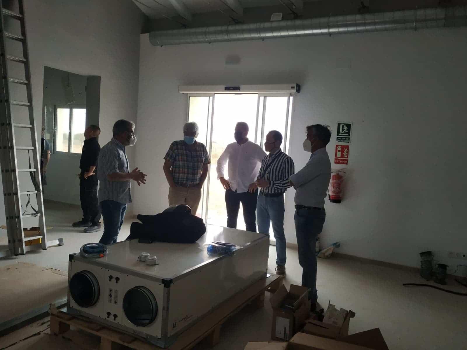 obras Quhesalia silo herencia - El Centro de Interpretación del Queso herenciano abrirá en próximo año